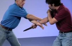 Knife Disarming: The Cross Block