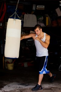 Self Defense Training Heavy Bag