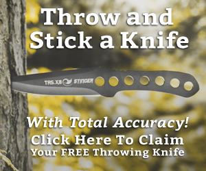Learn To Throw And Stick A Knife With Total Accuracy
